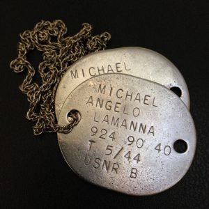 My grandfather's World War two dog tags